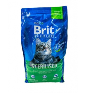 BRIT PREMIUM KOT STERILISED...